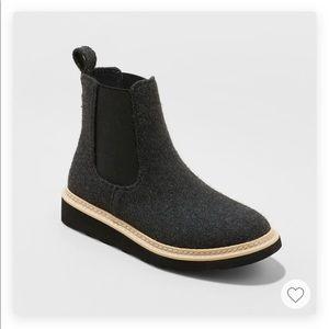 Fashion Sneaker Boot Universal Thread - Charcoal